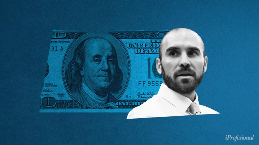 El éxito del bono dólar linked de Guzmán calmó al mercado.