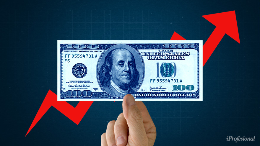 En alza: el dólar blue aceleró antes de fin de año.