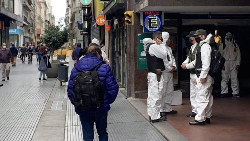 La aparatosa presencia de los gendarmes en la City exacerbó la tendencia alcista del dólar paralelo