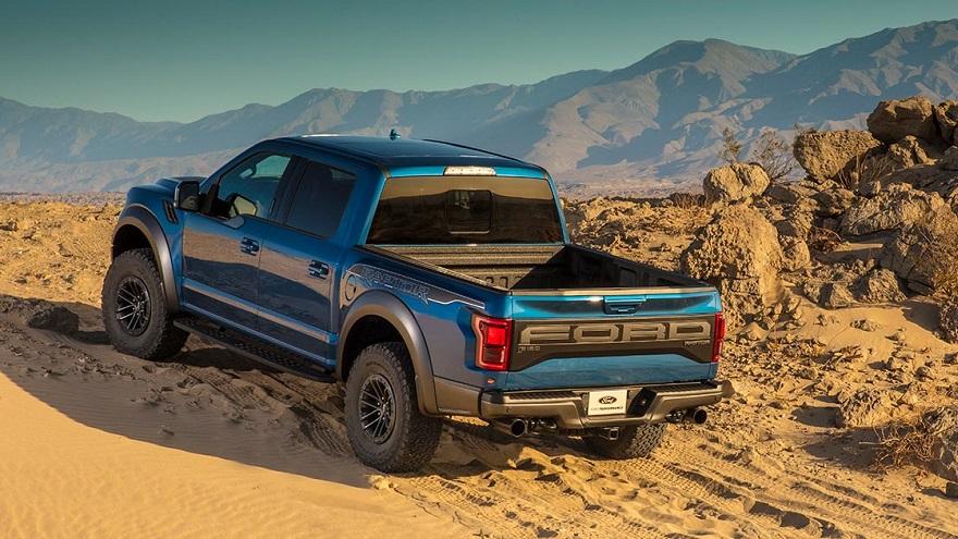 Ford F150 Raptor, imponente por donde la mires.