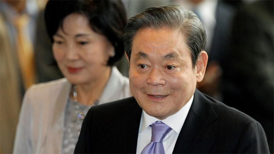 Samsung recuerda a su presidente como un