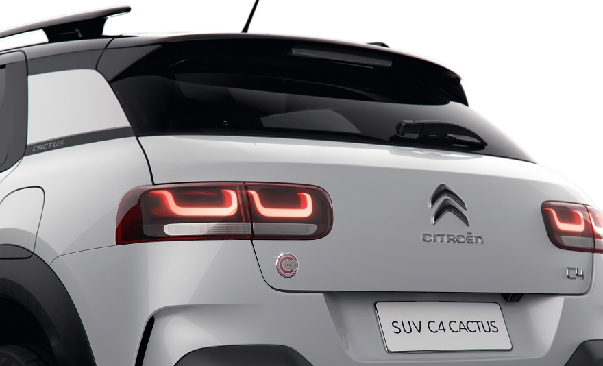 Detalles especiales para el Citroën C4 Cactus C-Series.