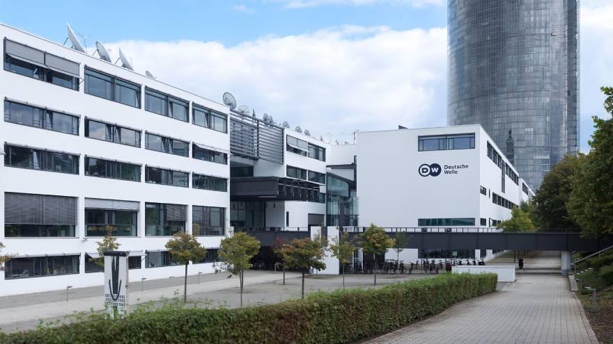 Esta es la sede de la Deutsche Welle, que además produce documentales