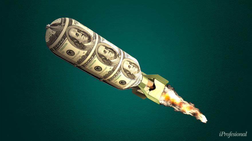 La escalada del blue y las mayores restricciones impulsaron la salida de billetes de los bancos