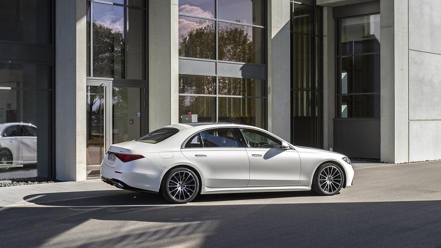 Mercedes Benz Clase S, el sedán más vendido.