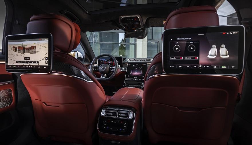 Mercedes Benz apuesta a la tecnología desde todos los ángulos.