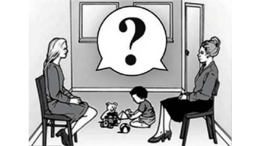 ¿Quién es la madre del bebé?
