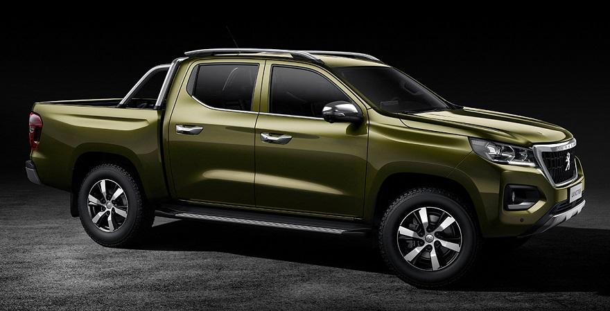Landtreck, la nueva pick up de Peugeot.