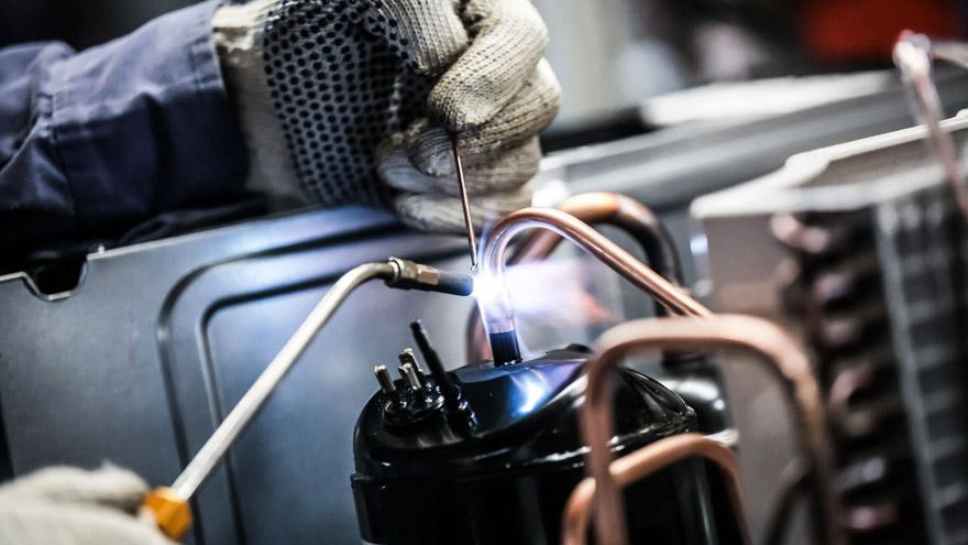 Acondicionadores inverter: se producen en Tierra del Fuego.