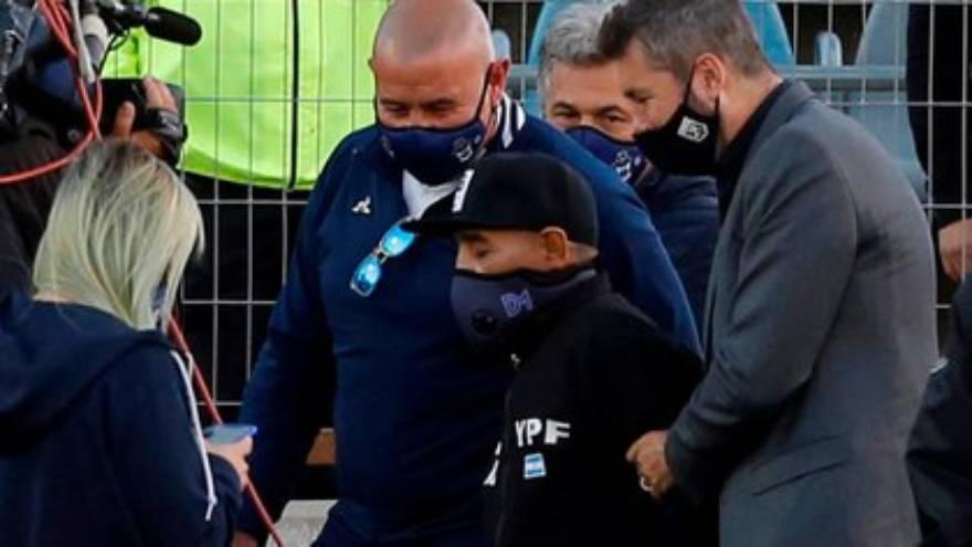 Maradona había recibido un homenaje por su cumpleaños número 60