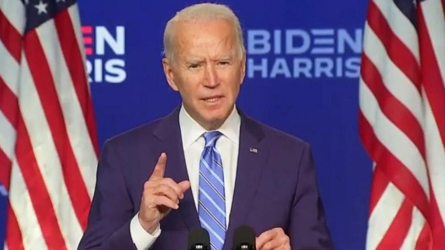 Joe Biden: los empresarios se le acercan y esperan que no se demore más la transición.