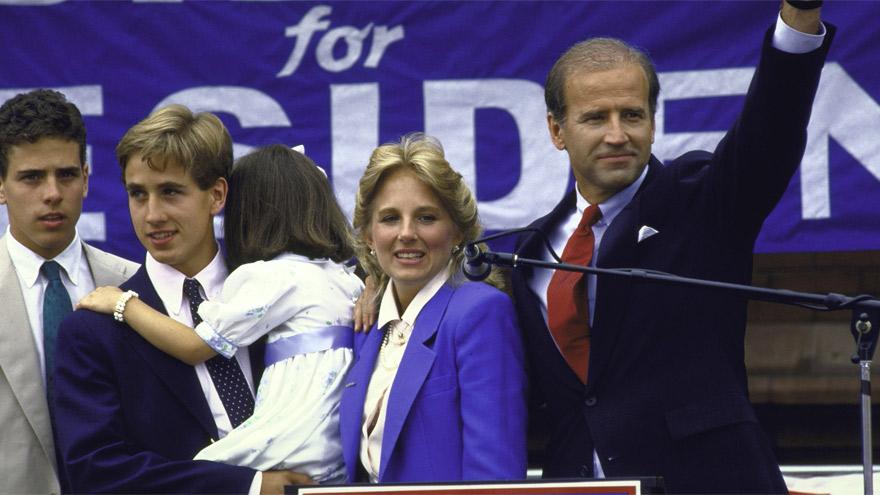 Biden lanzó su campaña a la presidencia en 1987. El sueño se terminó por un discurso plagiado.