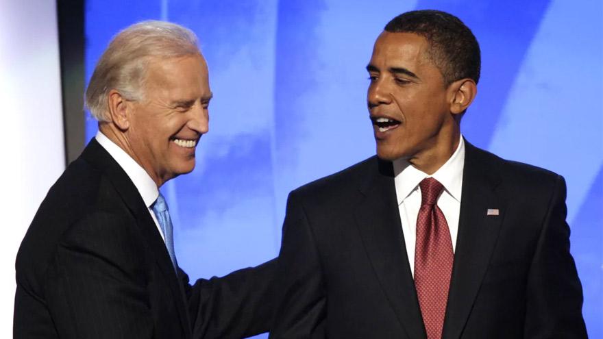 Biden fue vicepresidente de Obama, pero recibió acusaciones de racismo dentro del mismo partido demócrata.