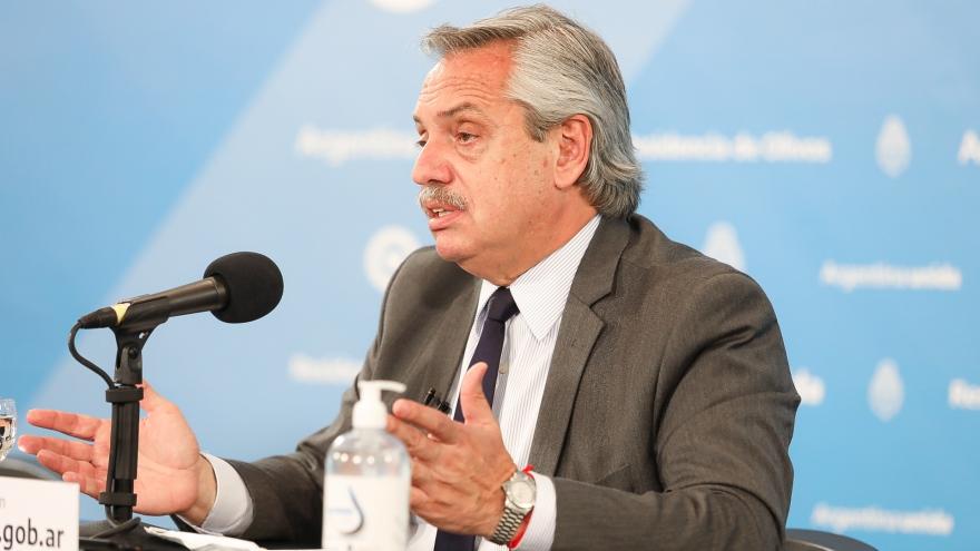 . El presidente Alberto Fernández estuvo al frente de las preferencias