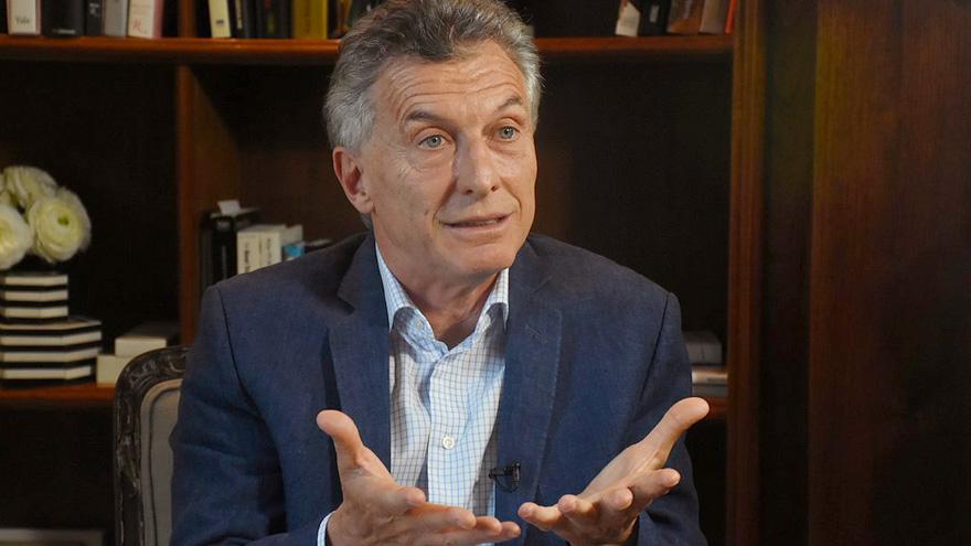 Mauricio Macri enfatiza la mala herencia recibida del gobierno anterior al suyo.