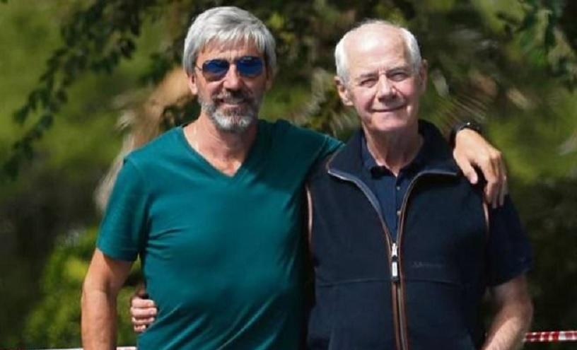 Julio Aro y Geoffrey Cardozo fueron enemigos en Malvinas