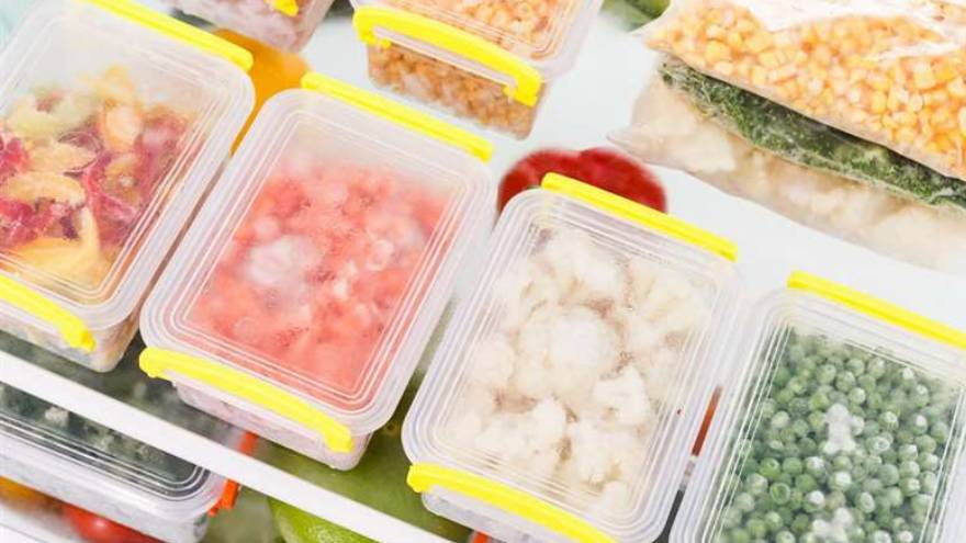 Congelar alimentos es una práctica muy frecuente