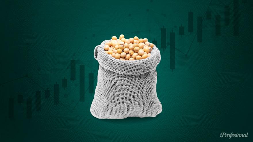La suba de la soja podría ayudar al país.