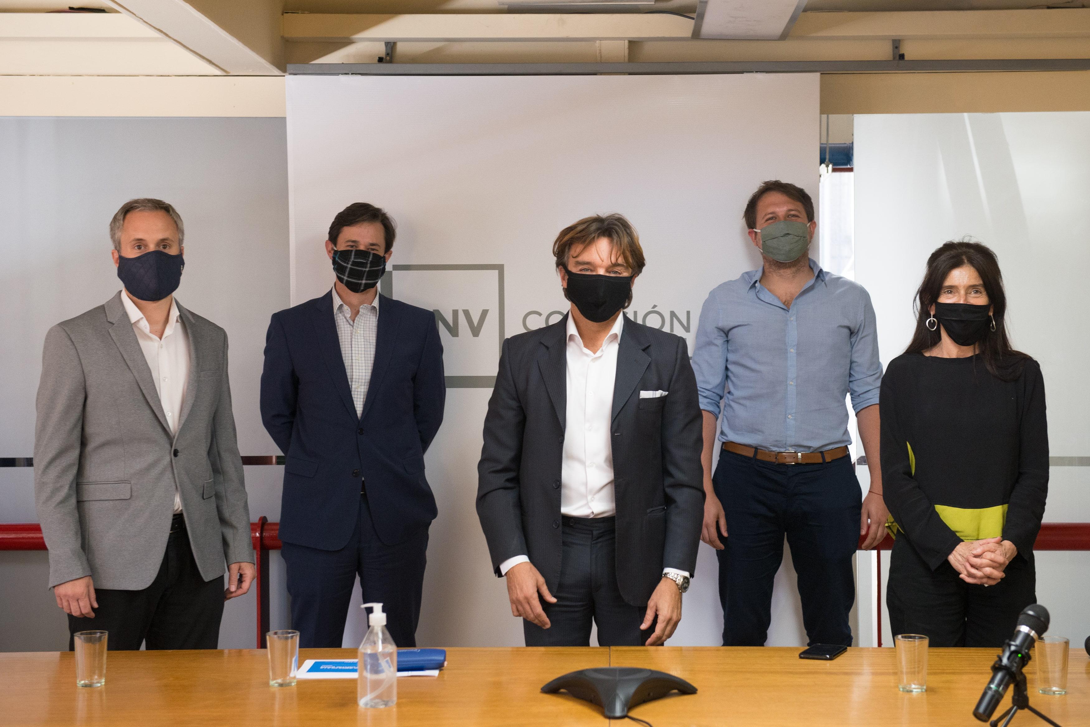 El Directorio de la CNV en la presentación virtual