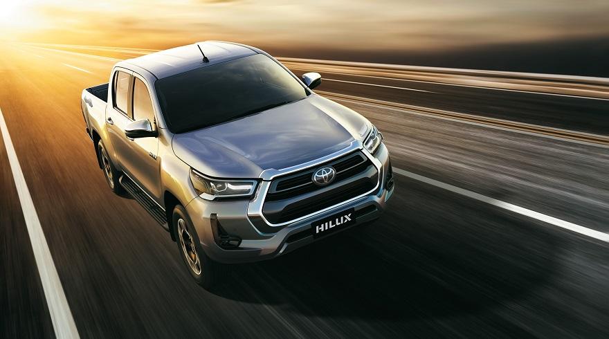 Toyota Hilux, la más vendida del mercado total.