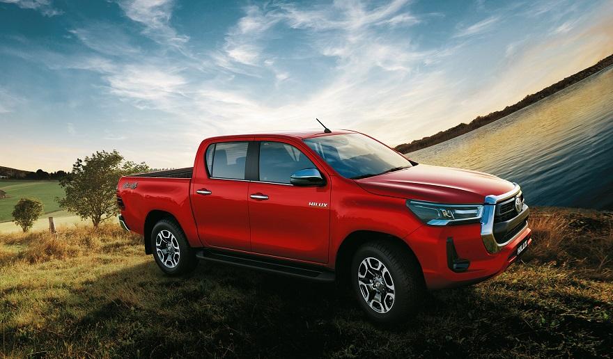 Toyota Hilux, la más vendida del mercado.