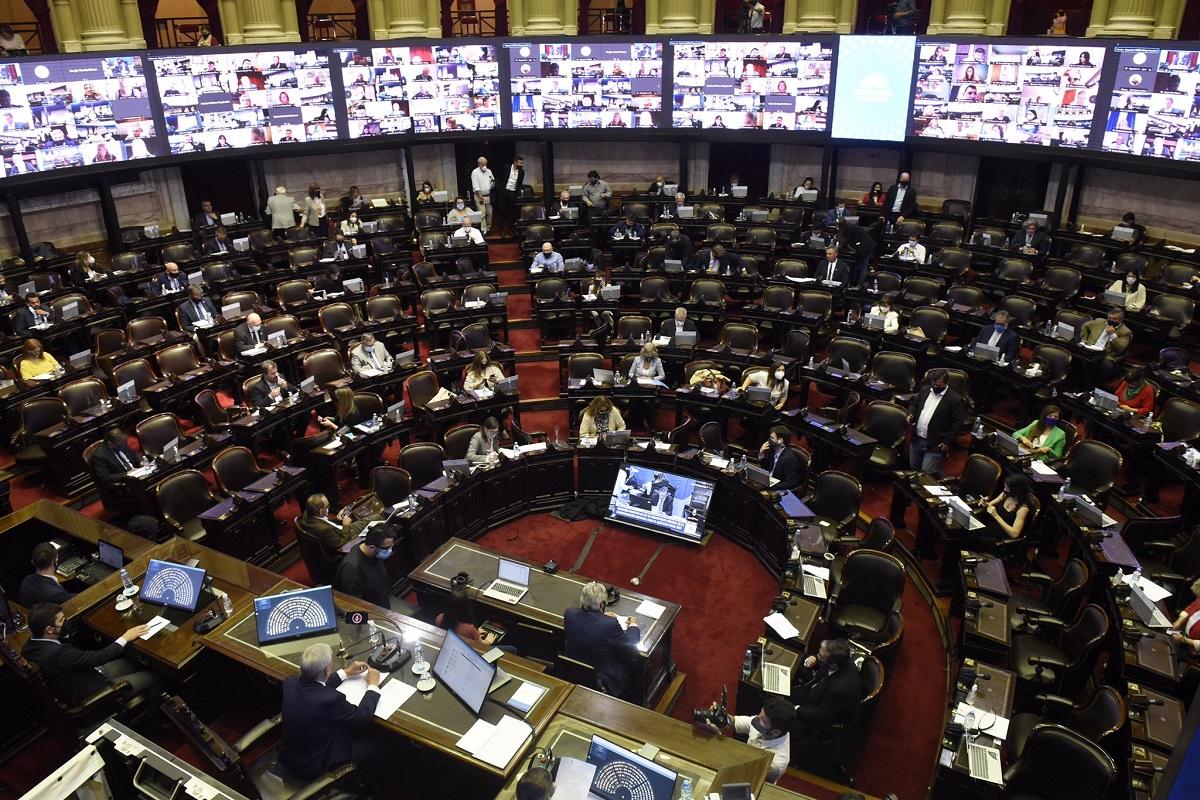 La Cámara de Diputados sancionó el Presupuesto 2021