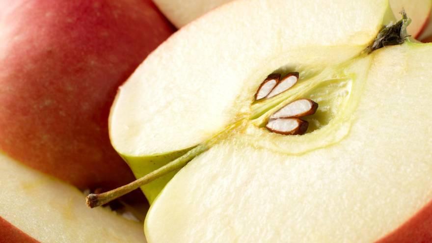 Las semillas de manzana contienen amigdalina