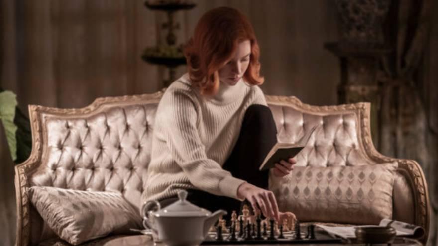 Gambito de dama es una de las series más populares en Netflix
