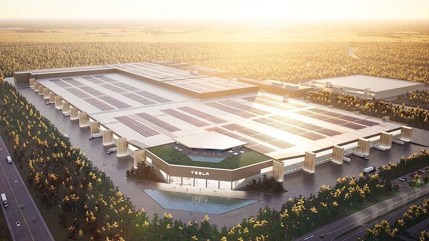 El Model Y será uno de los vehículos que se construirá en la Gigafactory