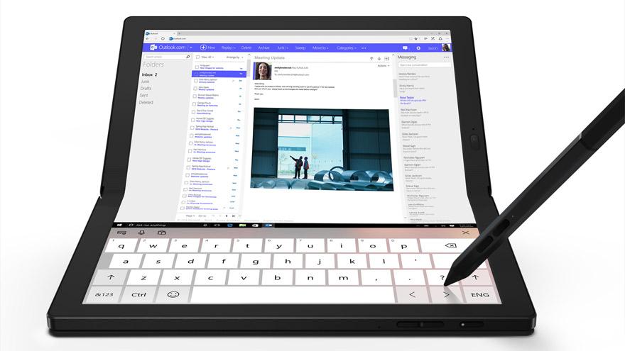 ThinkPad X1 Fold: ideal para trabajar, comunicarse y divertirse.