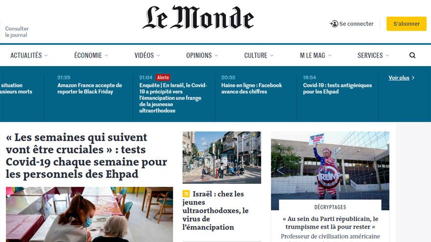 Le Monde, uno de los grandes medios franceses que cerró acuerdo con Google.