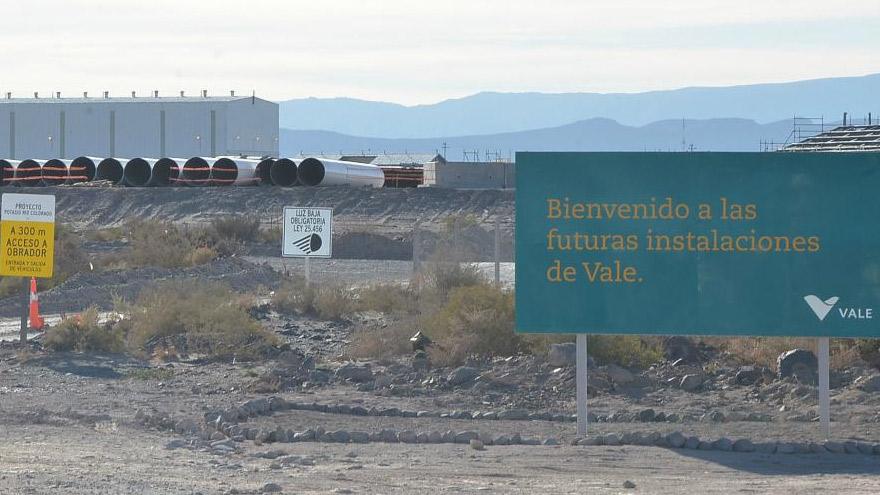 Mendoza buscará poner en marcha el proyecto trunco de Vale en Malargüe.