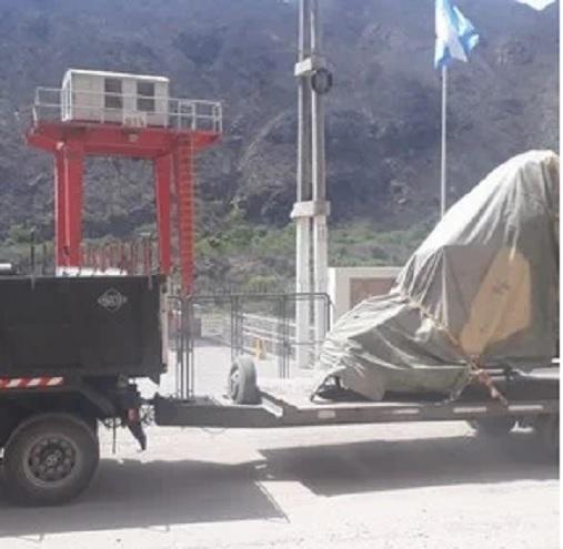 El helicóptero de Jorge Brito fue rescatado tras un complejo operativo