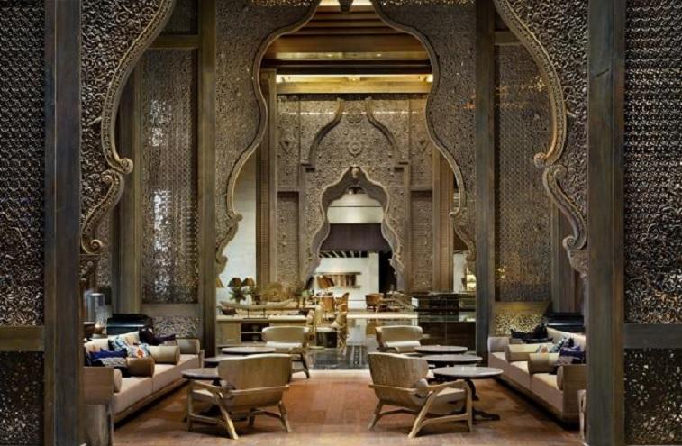Lobby del Apurva Kempinski