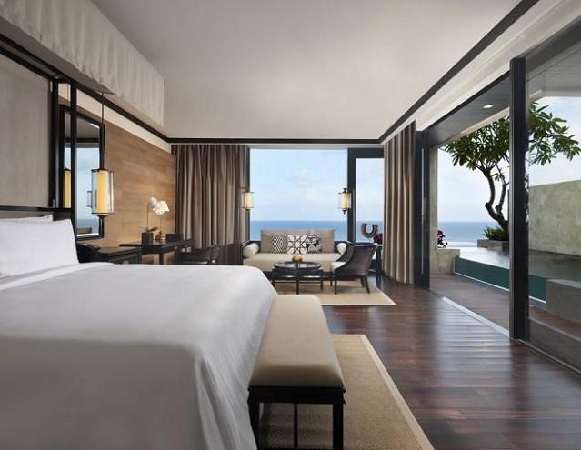 Una de las habitaciones del mejor hotel de lujo del mundo
