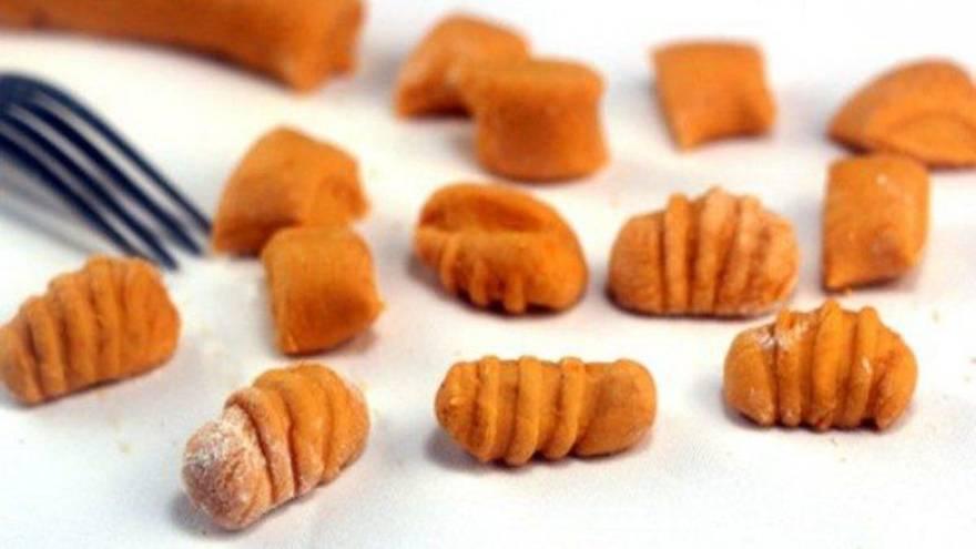 El zapallo es uno de los vegetales con los que se puede hacer ñoquis