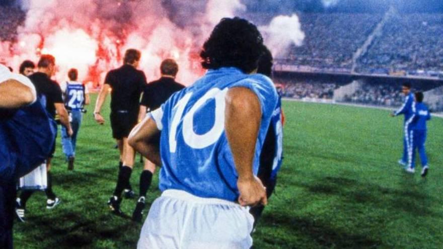 Para muchos expertos, el mejor Maradona se vio en el Nápoli pero un amigo del 10 opina otra cosa