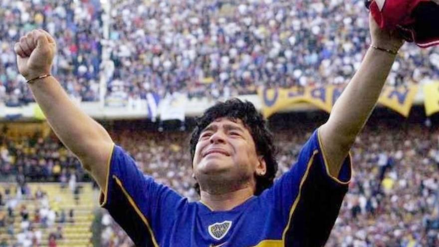 Maradona y sus mil emociones fueron reflejadas en internet y en las redes sociales