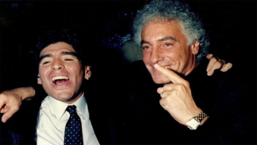 Maradona y Coppola, socios y amigos.