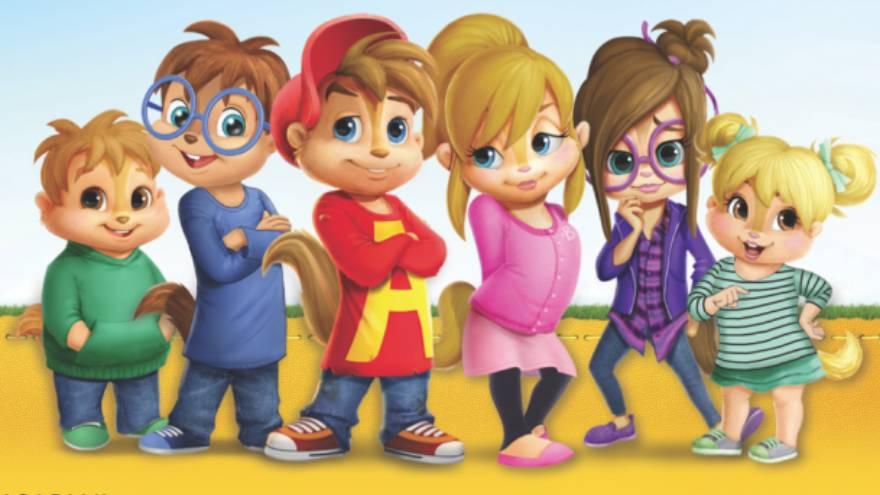 Alvin y las Ardillas es una de las series para chicos que llega a Amazon Prime Video en diciembre