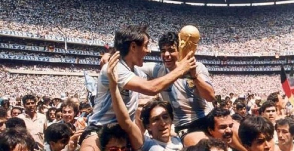 En la concentración y durante el mundial del 86, Pasculli y Diego compartían la habitación