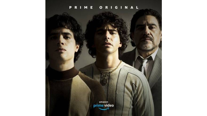 La serie de Maradona se iba a estrenar en octubre de 2020, pero la pandemia lo impidió