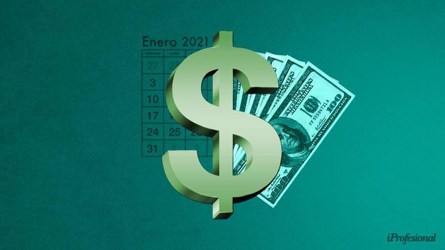El precio del dólar actual fue pronosticado por un grupo de economistas hace un año atrás.