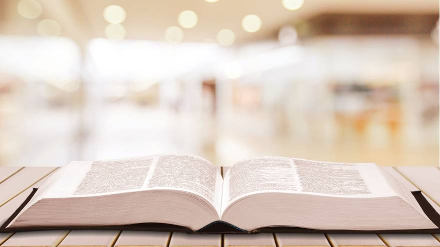El origen de las palabras no siempre se encuentra en los diccionarios