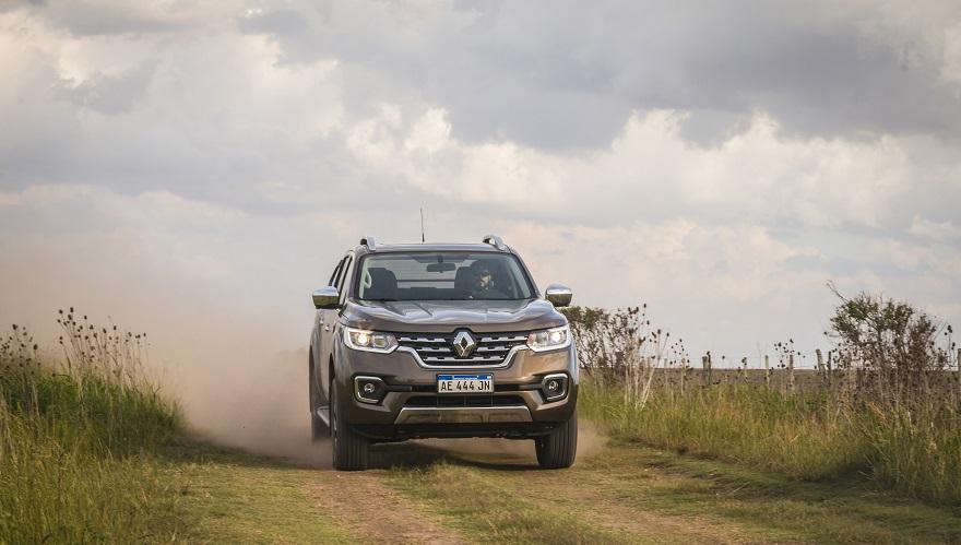 Renault Alaskan, con dos opciones de tracción.