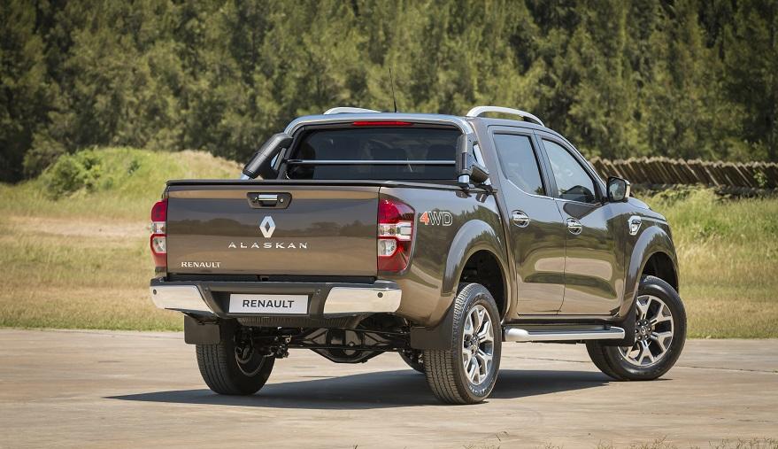 Renault Alaskan, apta para el campo o la ciudad.
