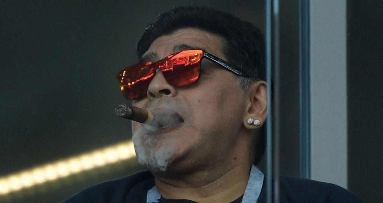 Diego Maradona, hoy en medio de los escándalos por su herencia.