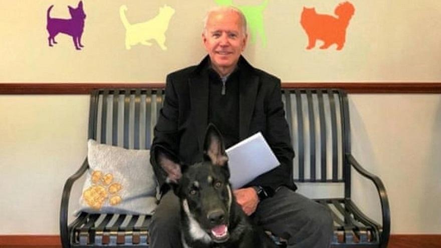 El presidente electo de los Estados Unidos se fisuró el pie derecho jugando con su perro