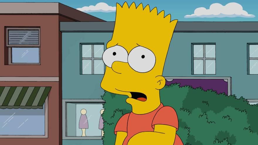 Bart es uno de los personajes más conocidos de los Simpson