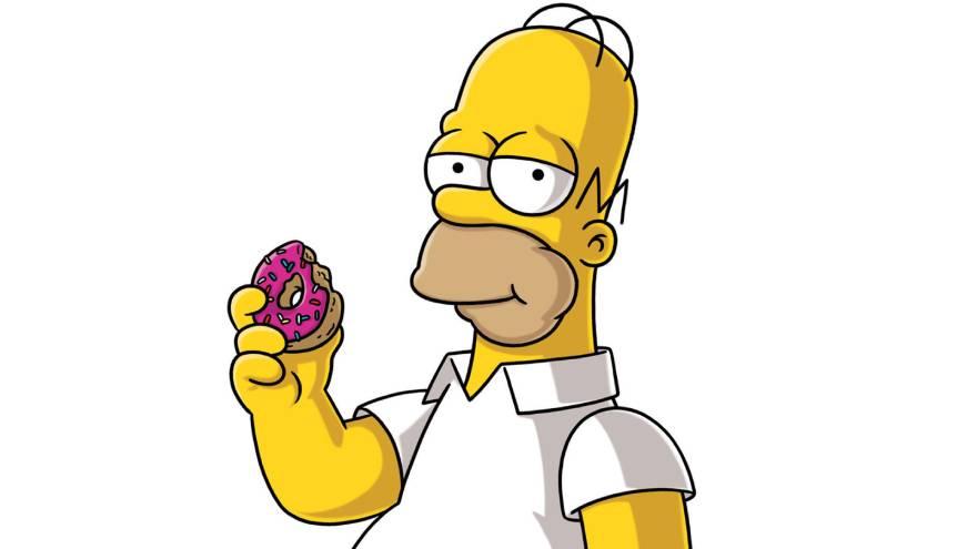 Homero es el padre de la familia de los Simpson